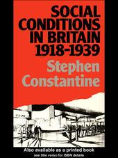 Social Conditions in Britain 1918-1939