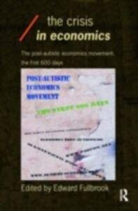 Ebook in inglese Crisis in Economics -, -