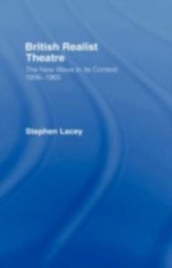 Ebook in inglese British Realist Theatre Lacey, Stephen
