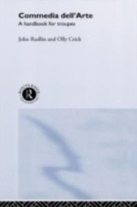 Ebook in inglese Commedia Dell'Arte Crick, Oliver , Rudlin, John