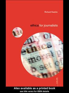 Ebook in inglese Ethics for Journalists Keeble, Richard
