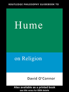 Ebook in inglese Routledge Philosophy GuideBook to Hume on Religion O'Connor, David