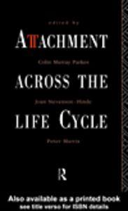 Foto Cover di Attachment Across the Life Cycle, Ebook inglese di AA.VV edito da