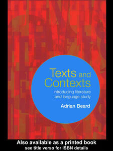 Ebook in inglese Texts and Contexts Beard, Adrian