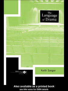 Ebook in inglese The Language of Drama Sanger, Keith