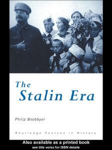 Ebook in inglese The Stalin Era Boobbyer, Philip