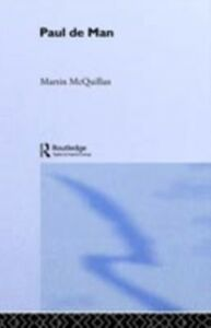 Ebook in inglese Paul de Man McQuillian, Martin