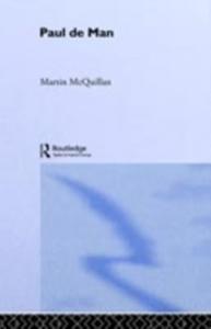 Ebook in inglese Paul de Man McQuillian, Martin