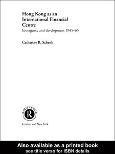 Ebook in inglese Hong Kong as an International Financial Centre Schenk, Catherine R.