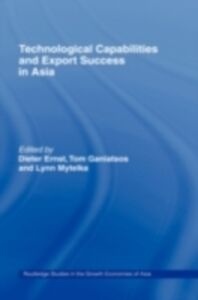 Foto Cover di Technological Capabilities and Export Success in Asia, Ebook inglese di  edito da Taylor and Francis