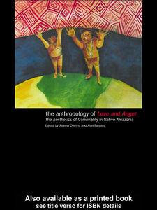 Ebook in inglese The Anthropology of Love and Anger
