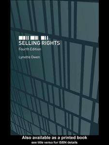 Ebook in inglese Selling Rights Owen, Lynette