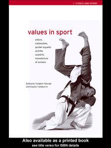Foto Cover di Values in Sport, Ebook inglese di Claudio Tamburrini,Torbjorn Tannsjo, edito da