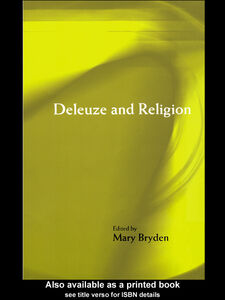 Ebook in inglese Deleuze and Religion Bryden, Mary