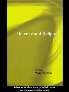 Foto Cover di Deleuze and Religion, Ebook inglese di Mary Bryden, edito da