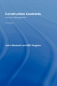 Foto Cover di Construction Contracts, Ebook inglese di Will Hughes,John Murdoch, edito da