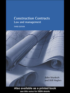 Ebook in inglese Construction Contracts Hughes, Will , Murdoch, John