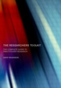 Ebook in inglese Researcher's Toolkit