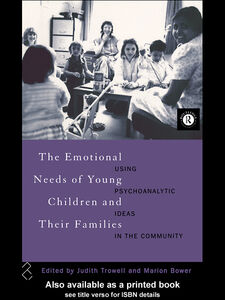 Ebook in inglese The Emotional Needs of Young Children and Their Families