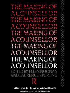 Ebook in inglese The Making of a Counsellor