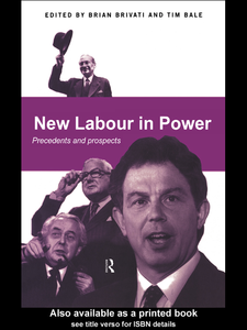 Ebook in inglese New Labour in Power
