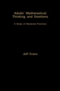 Ebook in inglese Adults' Mathematical Thinking and Emotions Evans, Jeff