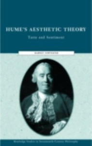 Ebook in inglese Hume's Aesthetic Theory Townsend, Dabney