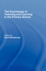 Foto Cover di Psychology of Teaching and Learning in the Primary School, Ebook inglese di  edito da Taylor and Francis