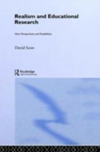Ebook in inglese Realism and Educational Research Scott, David