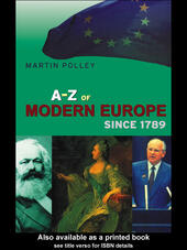 An A-Z of Modern Europe Since 1789
