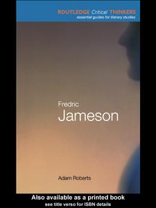 Ebook in inglese Fredric Jameson Roberts, Adam