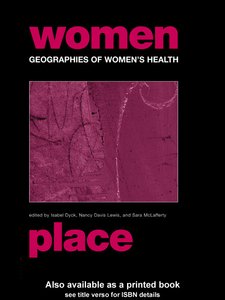 Ebook in inglese Geographies of Women's Health