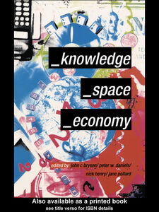 Ebook in inglese Knowledge, Space, Economy