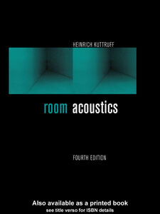 Ebook in inglese Room Acoustics Kuttruff, Heinrich