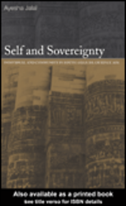 Ebook in inglese Self and Sovereignty Jalal, Ayesha