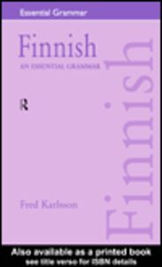 Ebook in inglese Finnish Karlsson, Fred