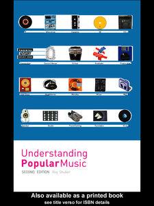 Foto Cover di Understanding Popular Music, Ebook inglese di Roy Shuker, edito da