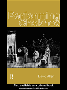 Ebook in inglese Performing Chekhov Allen, David