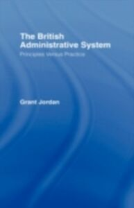 Ebook in inglese British Administrative System Jordan, Grant