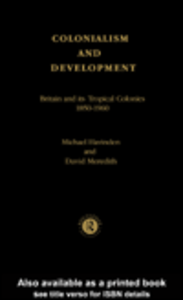 Ebook in inglese Colonialism and Development