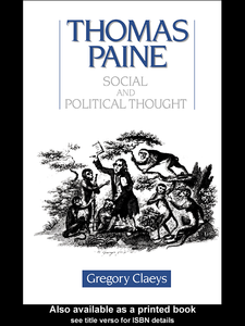 Ebook in inglese Thomas Paine Claeys, Gregory