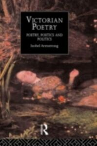 Foto Cover di Victorian Poetry, Ebook inglese di Isobel Armstrong,Mrs Isobel Armstrong, edito da Taylor and Francis
