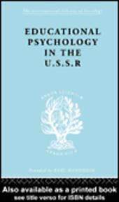 Education Psychology in USSR Ils 268