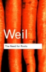 Ebook in inglese Need for Roots Weil, Simone