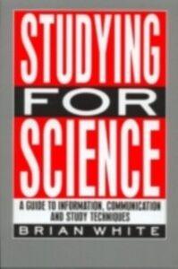 Foto Cover di Studying for Science, Ebook inglese di E.B. White, edito da Taylor and Francis