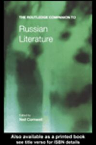 Ebook in inglese The Routledge Companion to Russian Literature