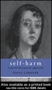 Ebook in inglese Self-Harm Gardner, Fiona