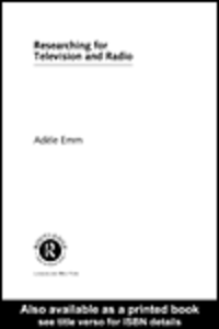 Ebook in inglese Researching for Television and Radio Emm, Adele