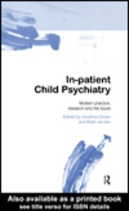Ebook in inglese In-patient Child Psychiatry