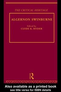 Foto Cover di Algernon Swinburne, Ebook inglese di  edito da Taylor and Francis